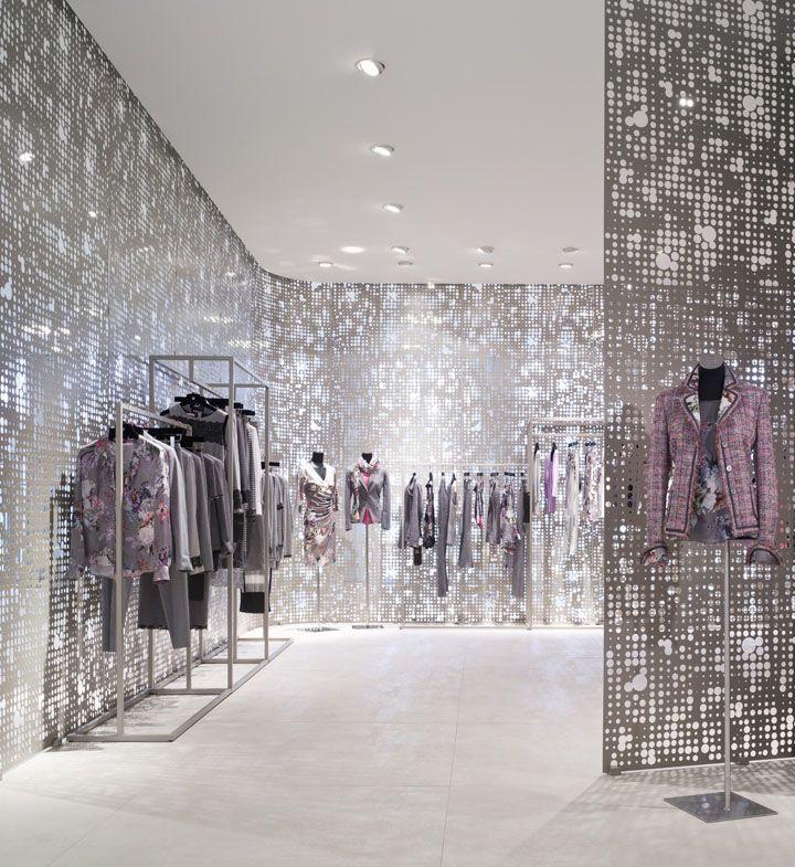basler showroom by blocher blocher partners d sseldorf store design interior wall. Black Bedroom Furniture Sets. Home Design Ideas