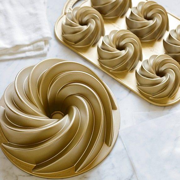 Nordic Ware Heritage Bundt Pan Bundt Cake Pan Food Cake Pans