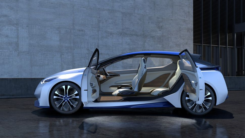 A Shape Shifting Self Driving Concept Car By Nissan Nissan Tokyo Motor Show Car