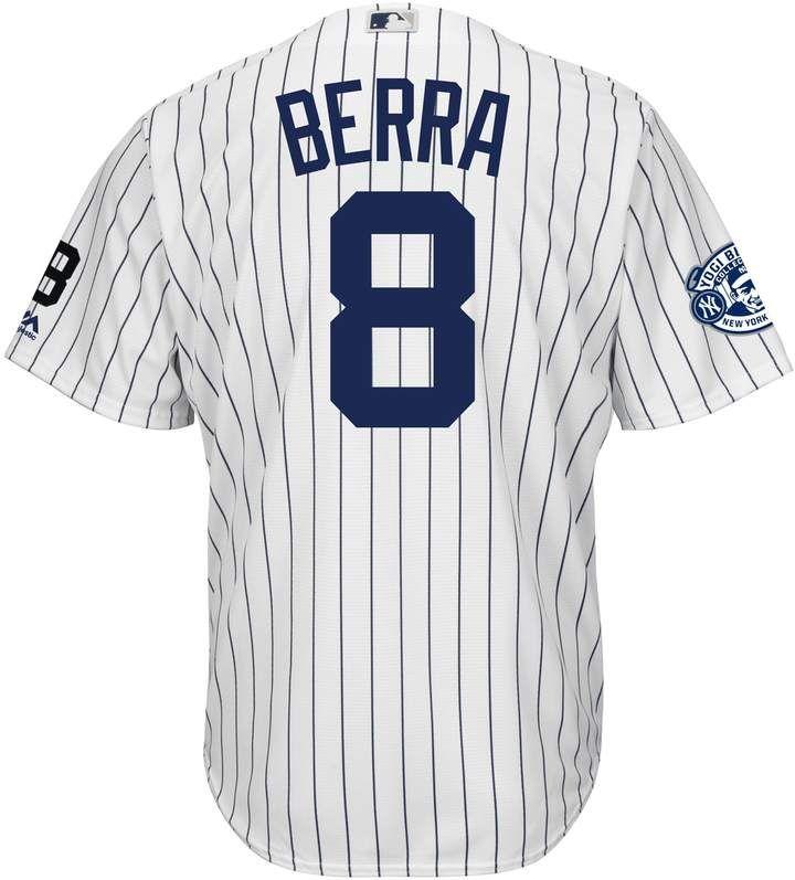 sneakers for cheap 7753b ea638 Majestic Men's New York Yankees Yogi Berra Commemorative ...