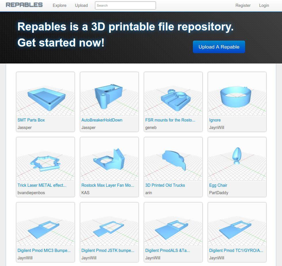 2020 Best Sites For Free STL Files & 3D Printer Models