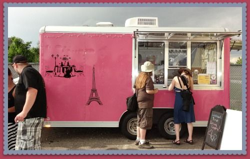 Yummy Rolling Crepes Food Delivery Truck