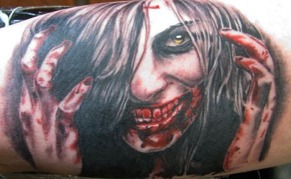 Tattoo Artist of the Day Chuk Olaf Hognell
