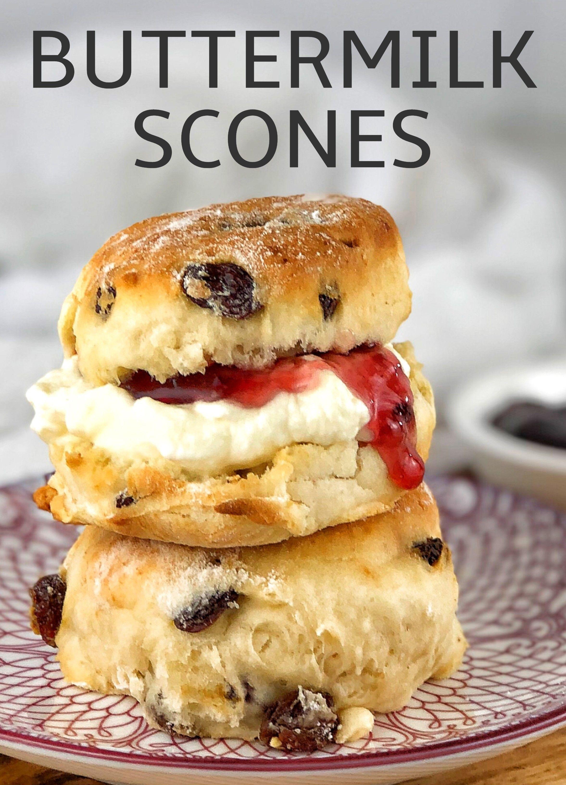 Sultana Scones In 2020 Sultana Scone Recipe Buttermilk Recipes Easy Delicious Recipes