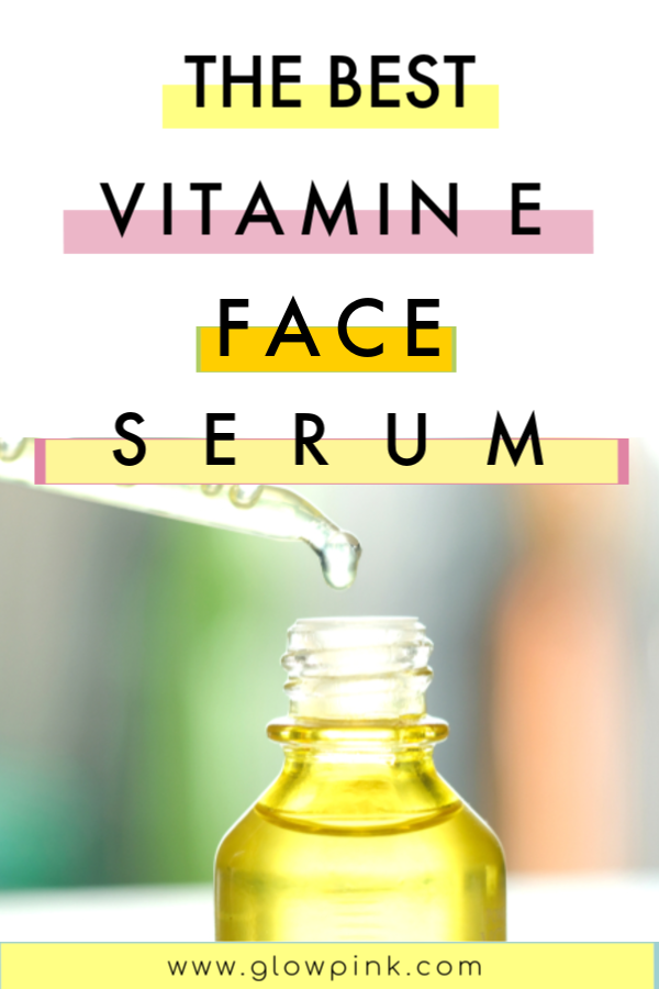 Vitamin E face serum that will change your skin like magic #faceserum