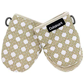 Amazon Com Cuisinart Silicone Mini Oven Mitts 2 Pack Little Oven Gloves For Cooking Heat Resistant Non Slip Hanging L Mini Oven Oven Glove Kitchen Bakeware