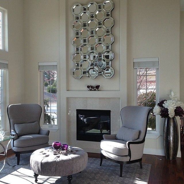 Our Axis Mirror Looks Gorgous Atop @porsche911tgirlu0027s Fireplace. Nice Ideas