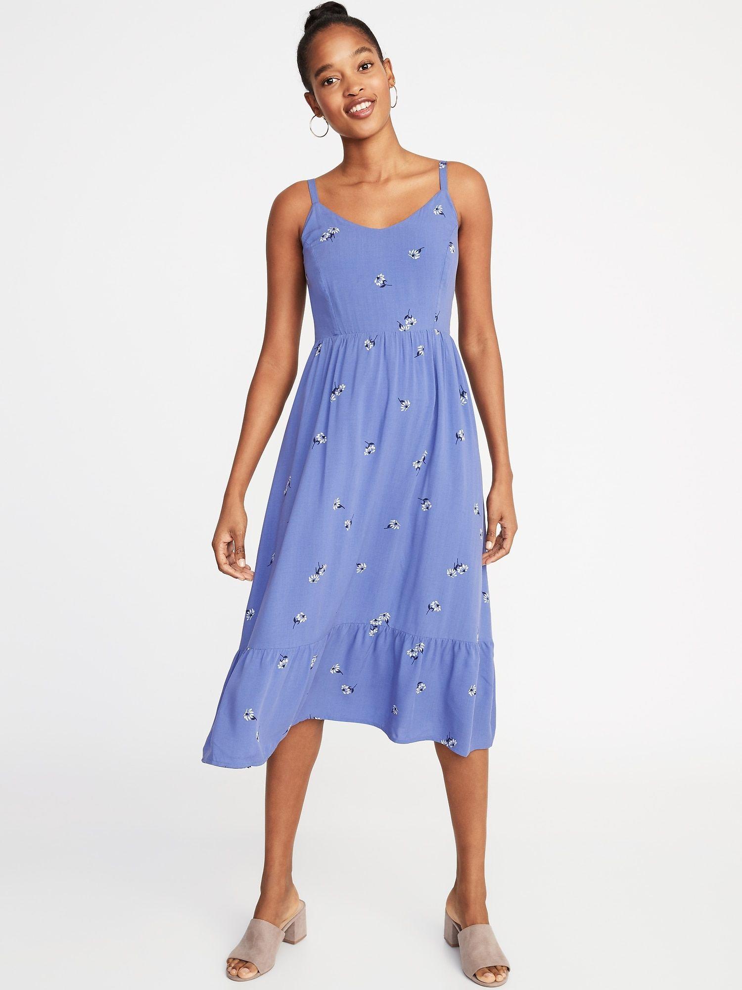 222fcb3d51ac Fit & Flare Cami Midi for Women in 2019   closet   Cami midi dress ...
