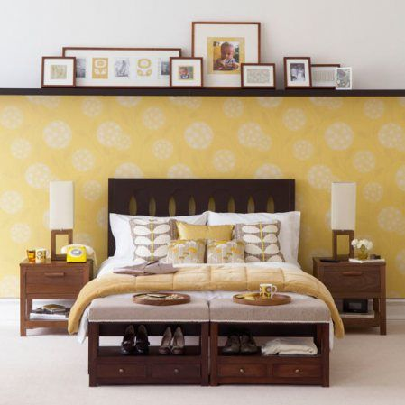 25 Beautiful Homes magazine | Picture rail, Bedrooms and Color walls