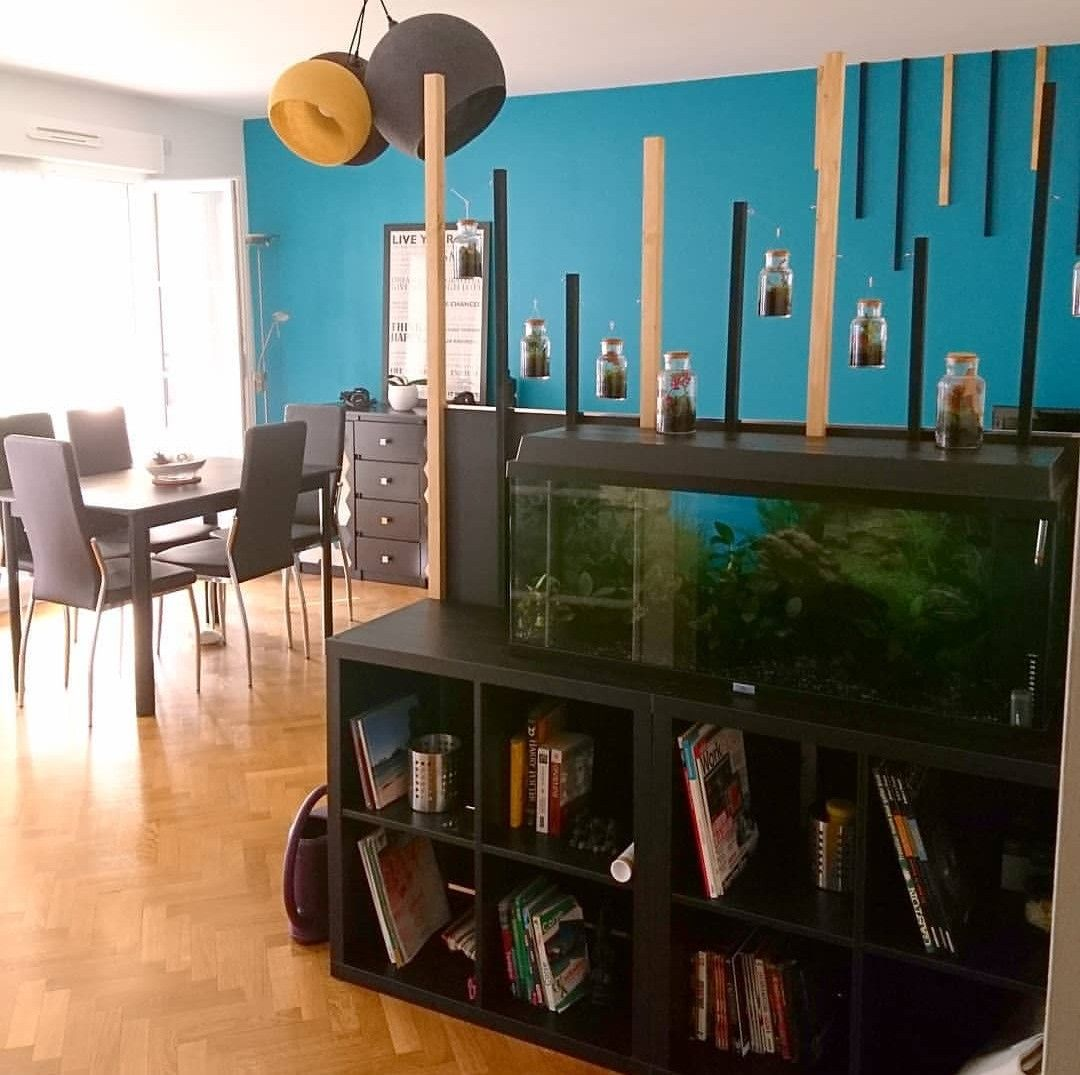 Easiest Fish Tank Stand Ever And Diy Room Separator Fish Tank Stand Tank Stand Room Diy