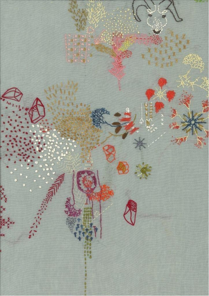 Lyndsey Mcdougall Embroidery Inspiration Contemporary Embroidery Embroidery Stitches