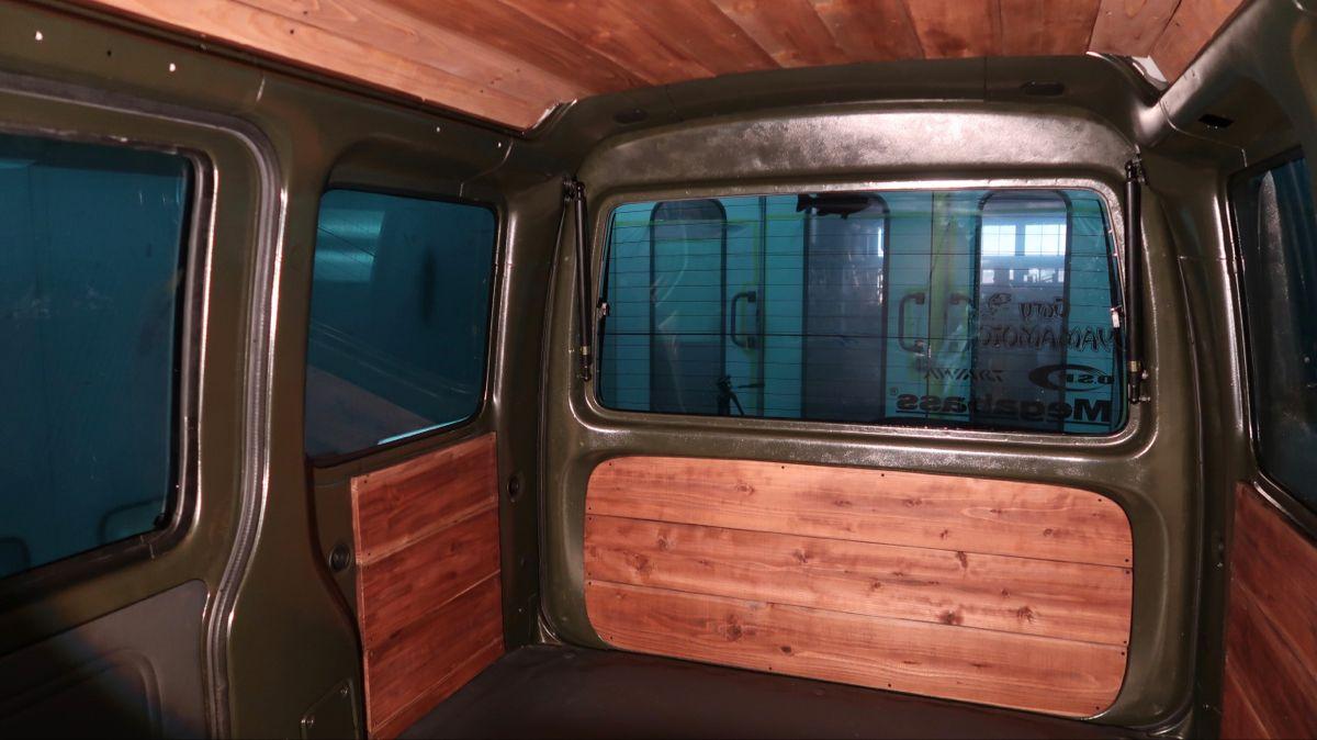 軽バン車中泊改造04側面の板張りでログハウス風になるの巻 ハイゼットカーゴ Youtube 2021 バン 車 軽バン バン