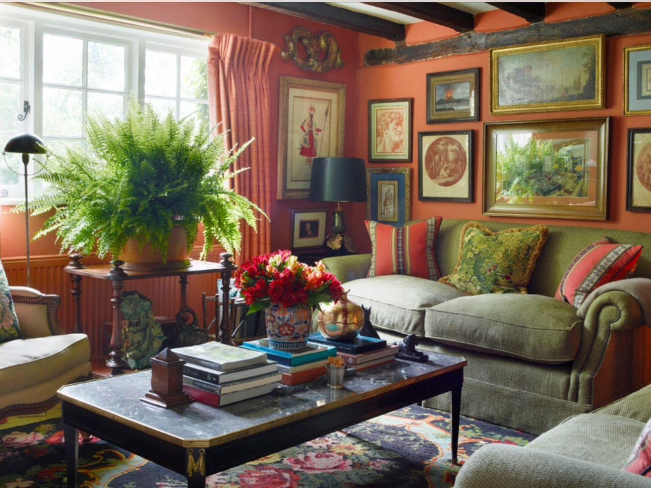 Englischer landhausstil wohnzimmer  Pin von Eugenia Quiroba auf Green | Pinterest