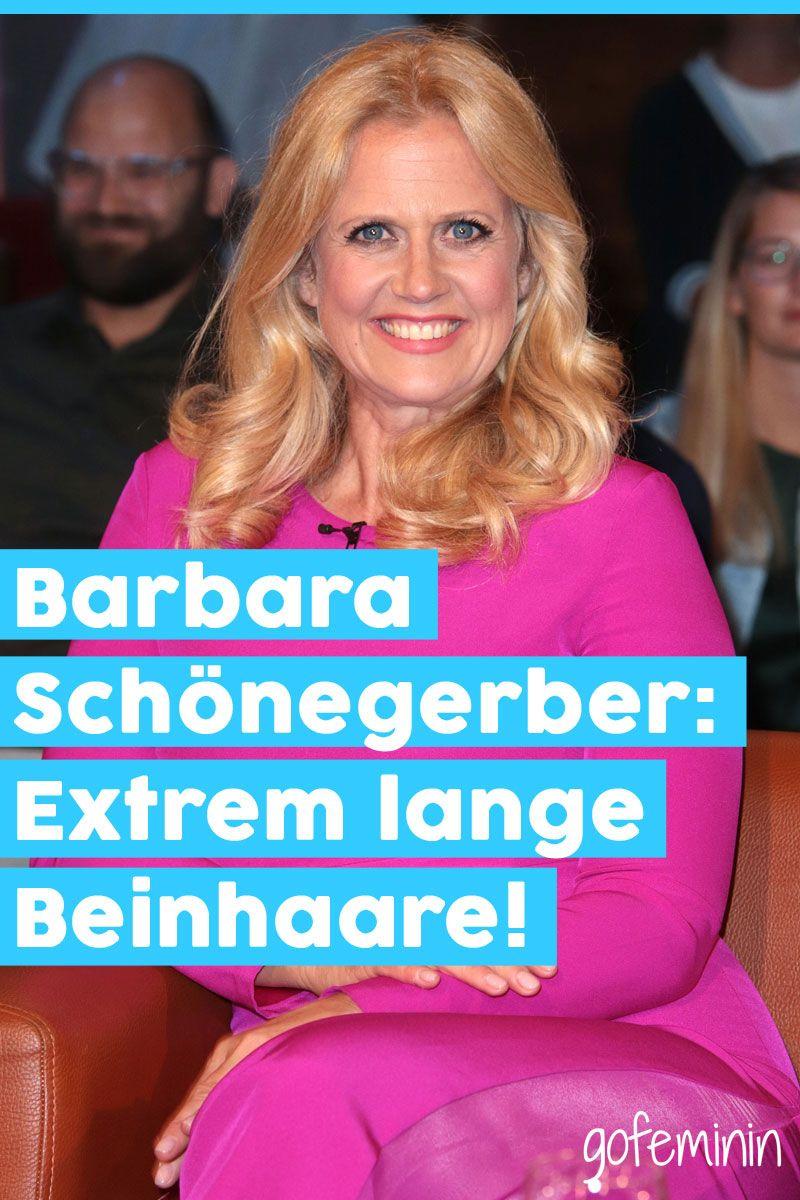 Barbara Schoneberger Zeigt Ihre Behaarten Beine Barbara Schoeneberger Schoeneberger Beine