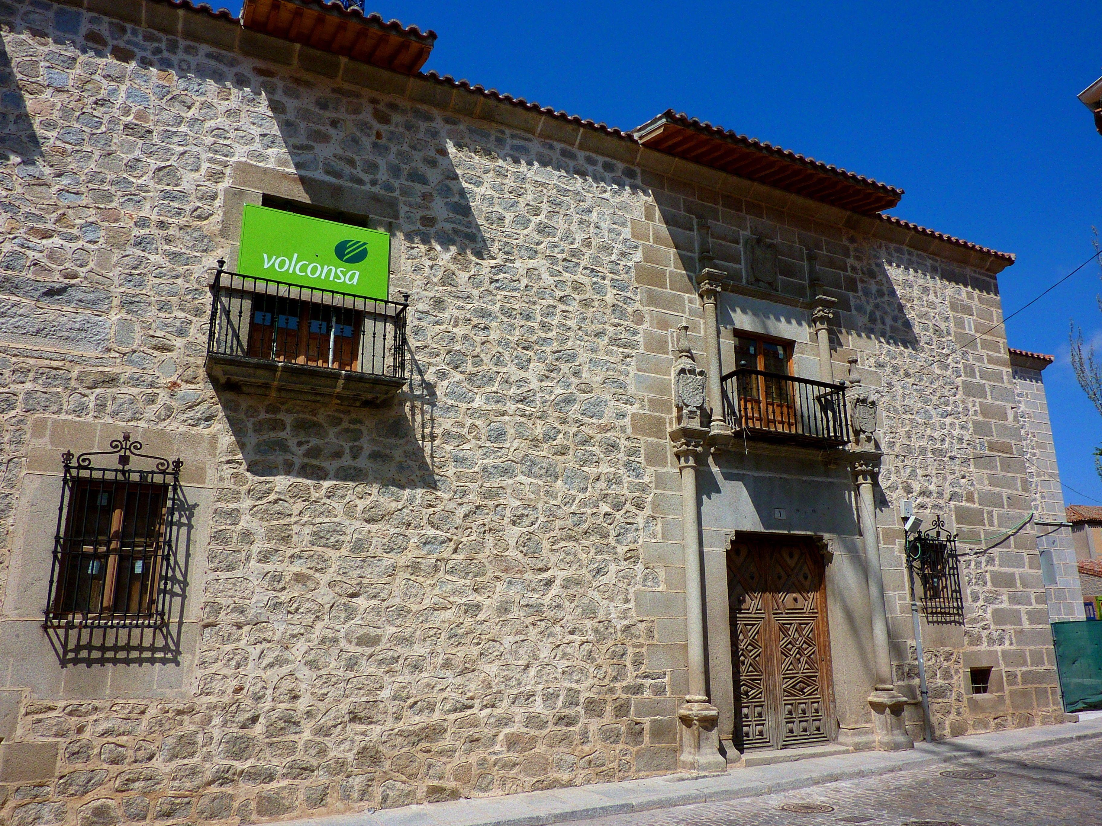 Palacio Del águila ávila Casas Y Linajes De Avila Victorino Casas Arquitectura Renacimiento Español