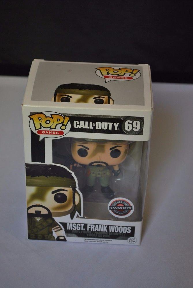 6821 Frank Woods Funko Pop Vinyl Call of Duty MSgt