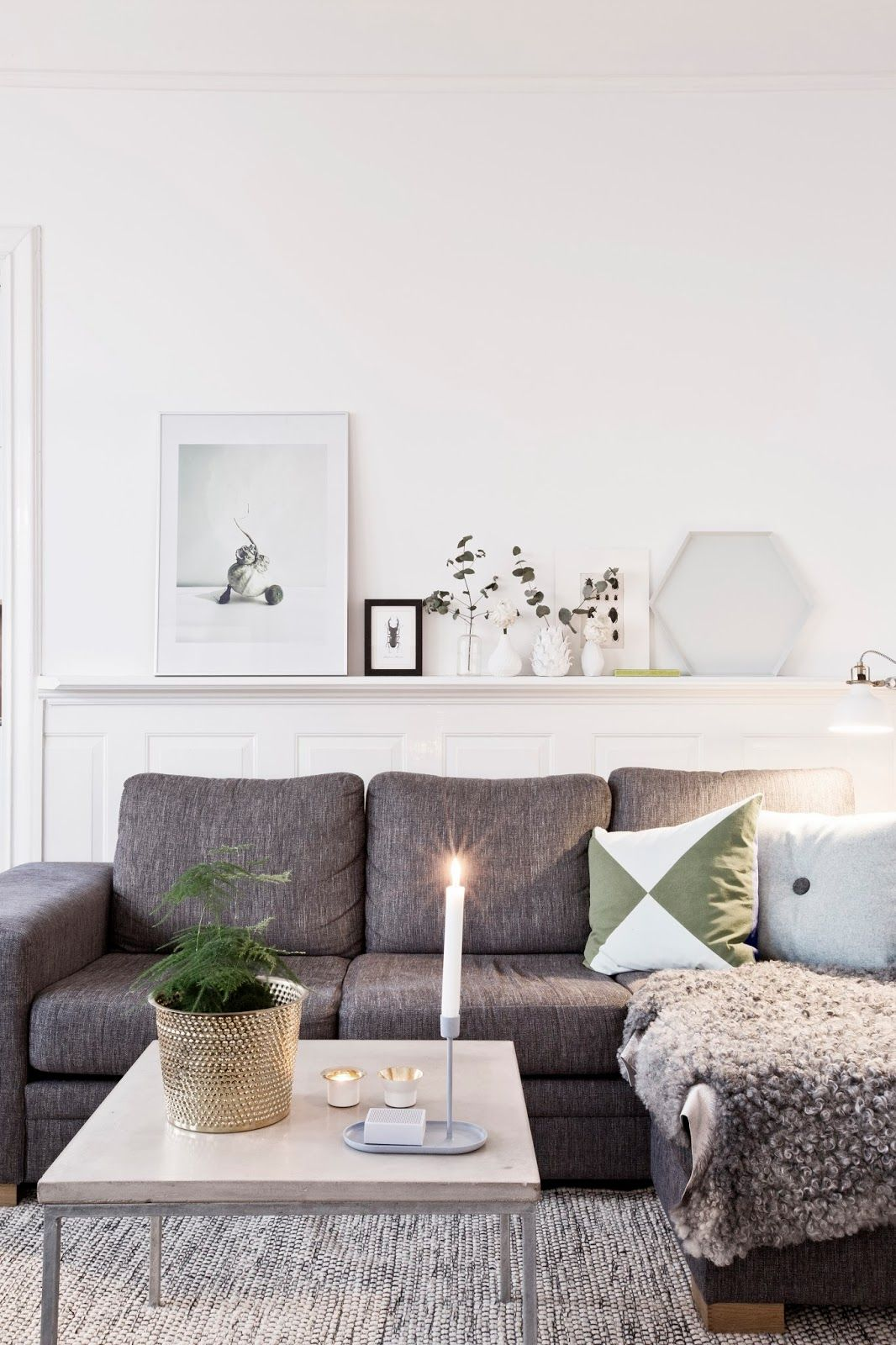 Ambiance Scandinave Salon Salon Ambiance Scandinave Decor Pinterest