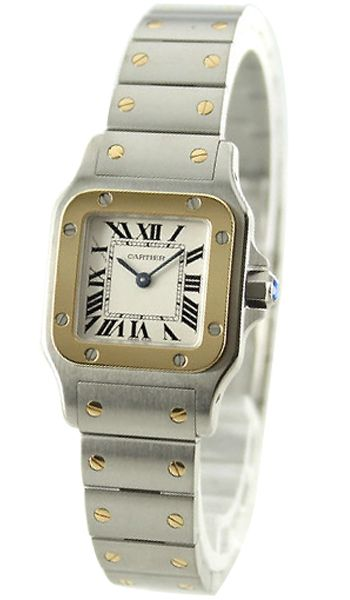 8dac383f66f3 Buy now  Cartier W20012C4 Santos de Cartier Women s 18k Gold  amp  Steel  Watch http