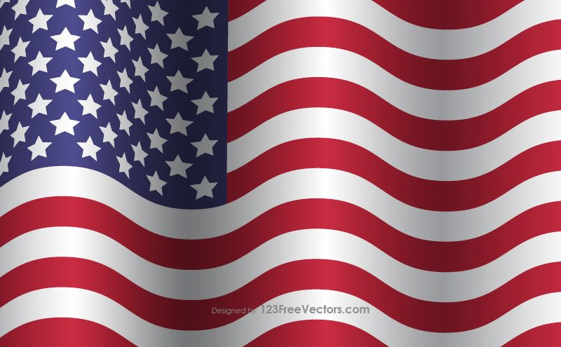 Distressed American Flag Flag American Flag Flag Vector
