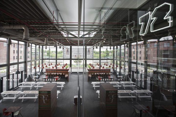 Nike Canteen by UXUS, Hilversum Netherlands restaurant