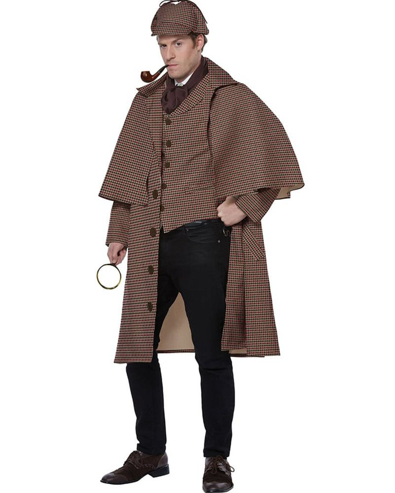 Sherlock Holmes Detective Mens Costume