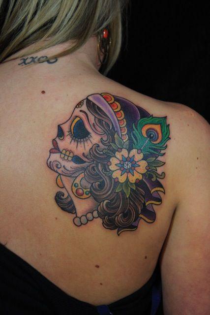 40 Mexican candy skull tattoos · Skullspiration.com ...
