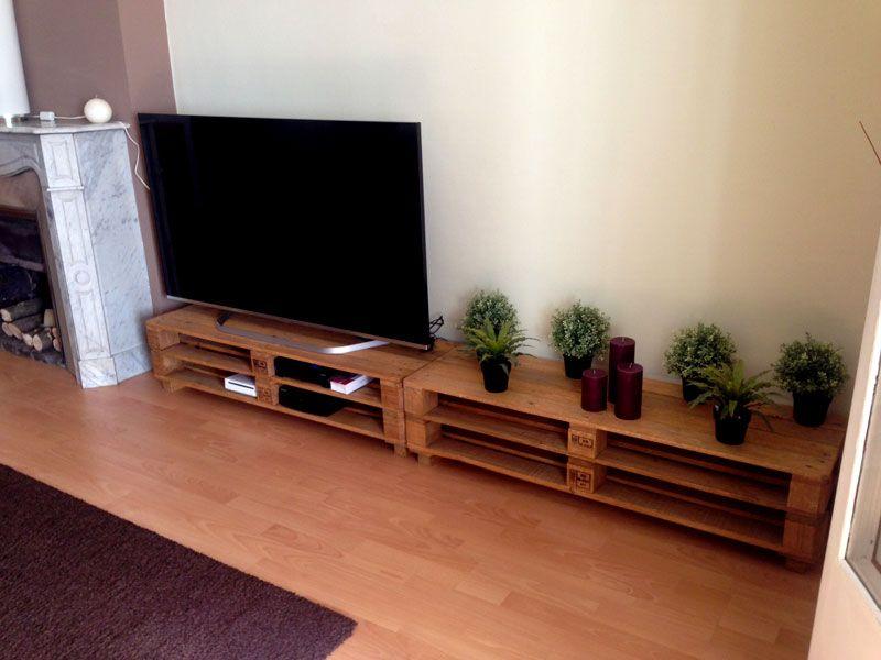 Muebles de palets para tv buscar con google muble tv - Muebles de palet ...