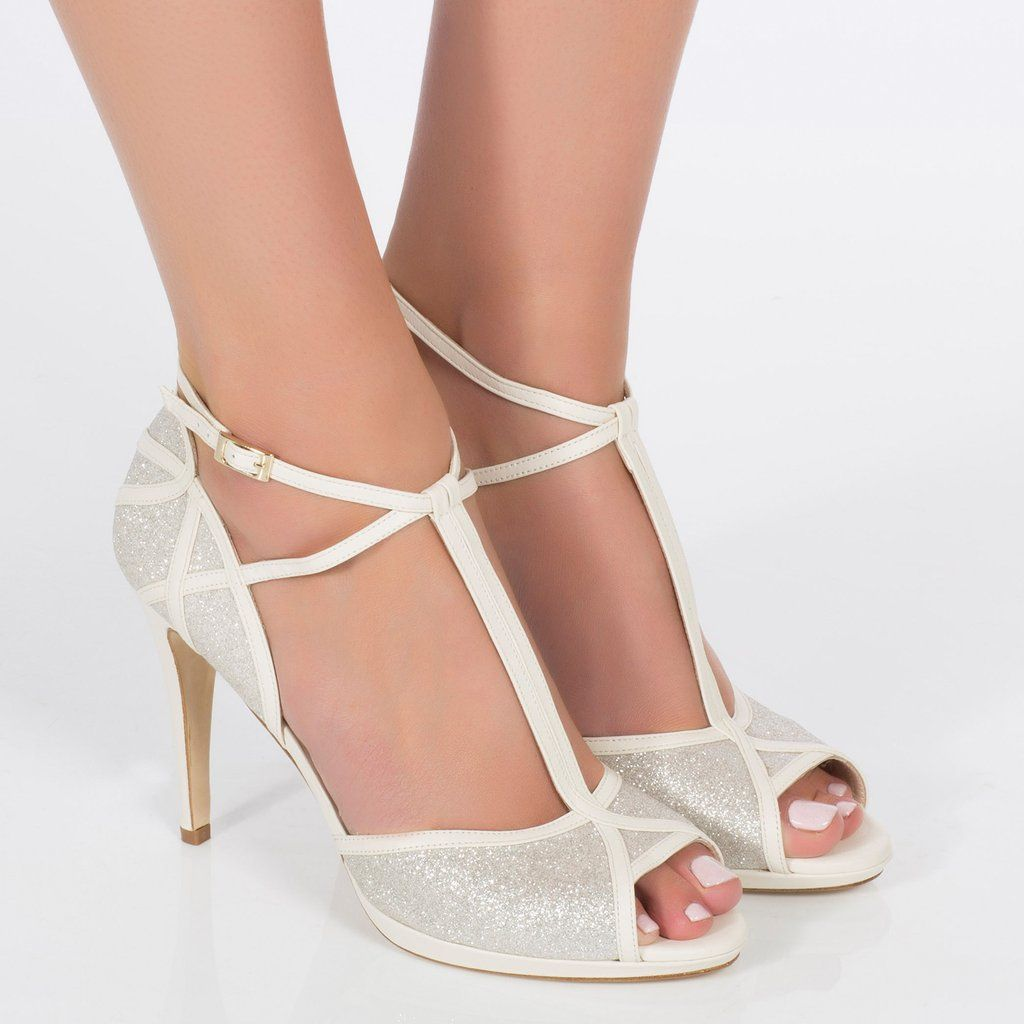 Chloe In 2019 Sparkly Wedding Shoes Bling Wedding Shoes Silver