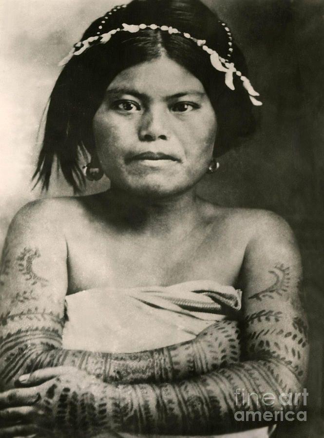 tattoo filipino lady 1800 s photograph by larry mora reringe rh pinterest com