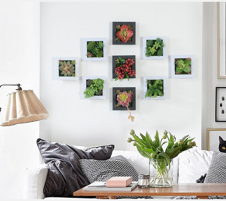 3d creativo en maceta plantas suculentas decoraci n del for Decoracion hogar 3d