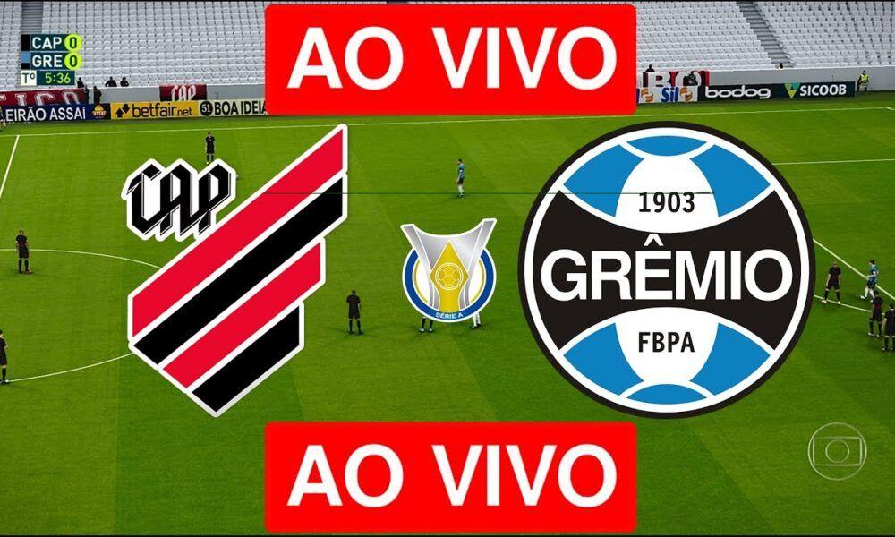 Assista Agora Athletico Pr X Gremio Ao Vivo Na Tv E Online Hd E Online Tv Jogos Do Brasileirao