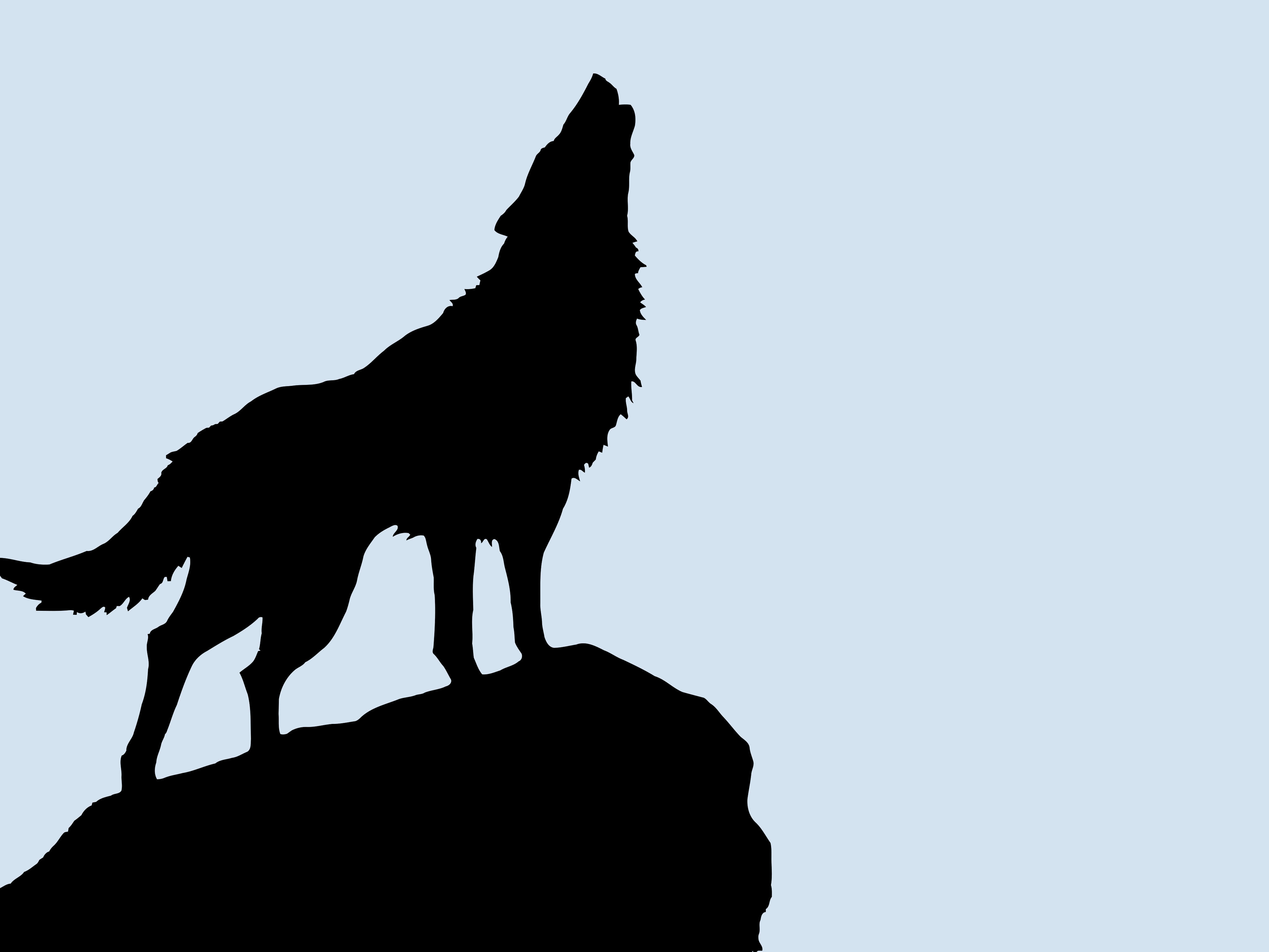 Wolf Vectorized Silhouette Art High Resolution Hd Wallpaper Art Clipart Best Wolf Silhouette Silhouette Art Silhouette Painting