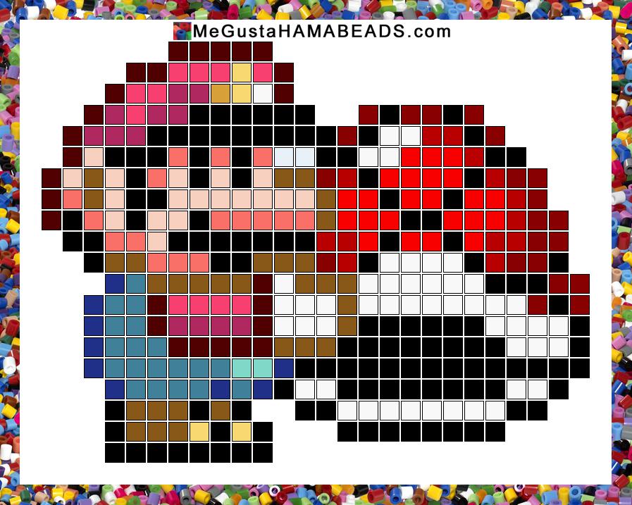 MeGustaHAMABEADS.com: Patrones Hama Beads Super Mario World parte 3