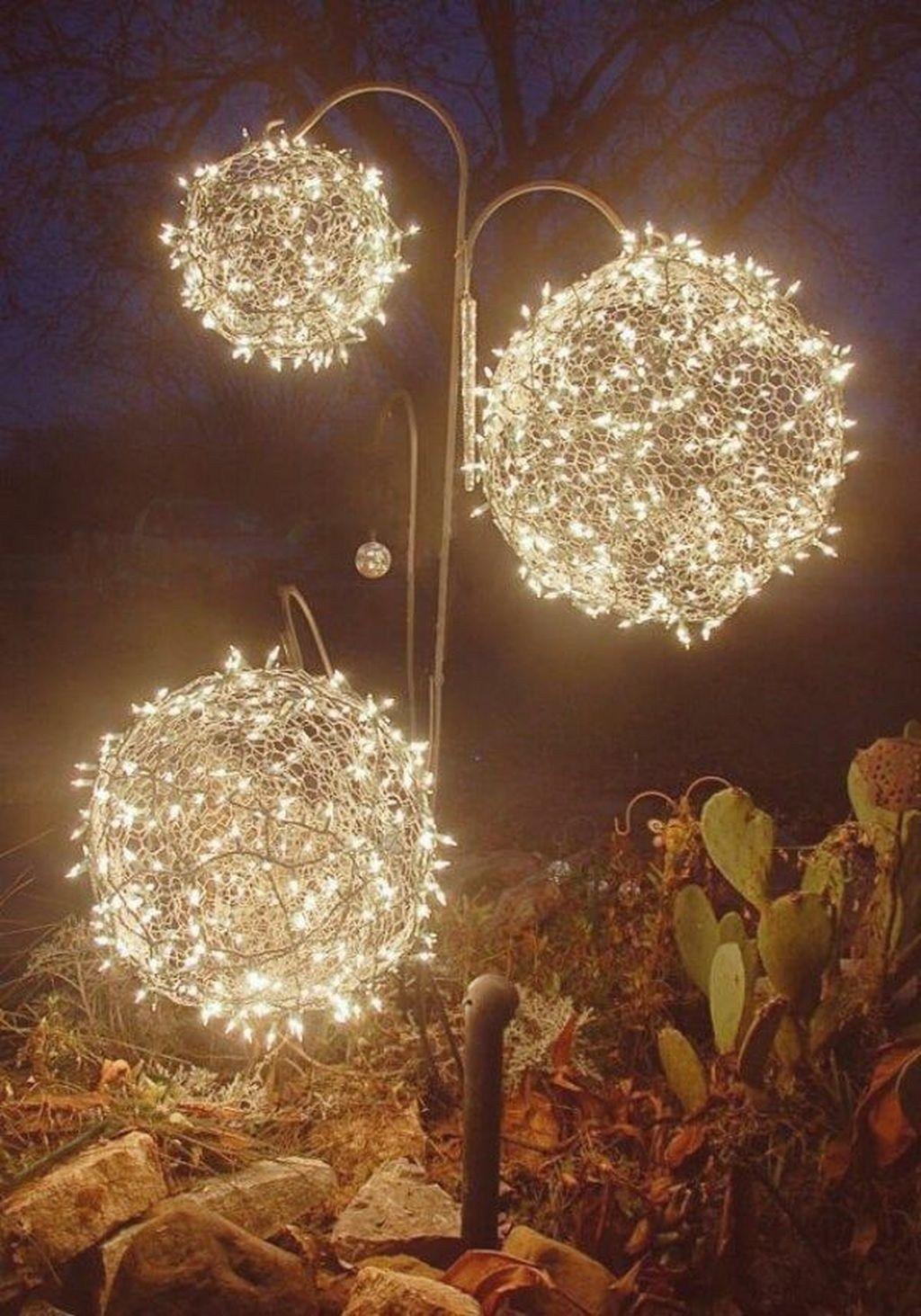 Idee Deco Guirlande Exterieur 30+ latest diy christmas lights decorating ideas | deco noel