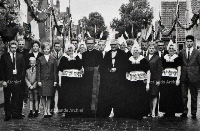 Zwarthoed. Jan (Bet). Geert Schokker. Gezin. #NoordHolland #Volendam