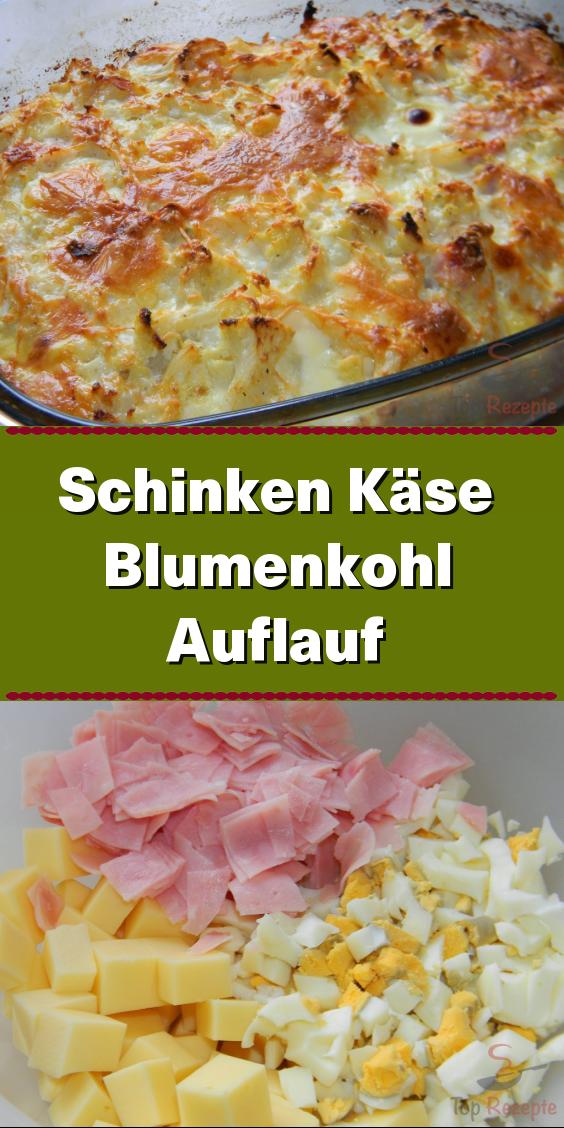 Photo of Ham, cheese and cauliflower casserole