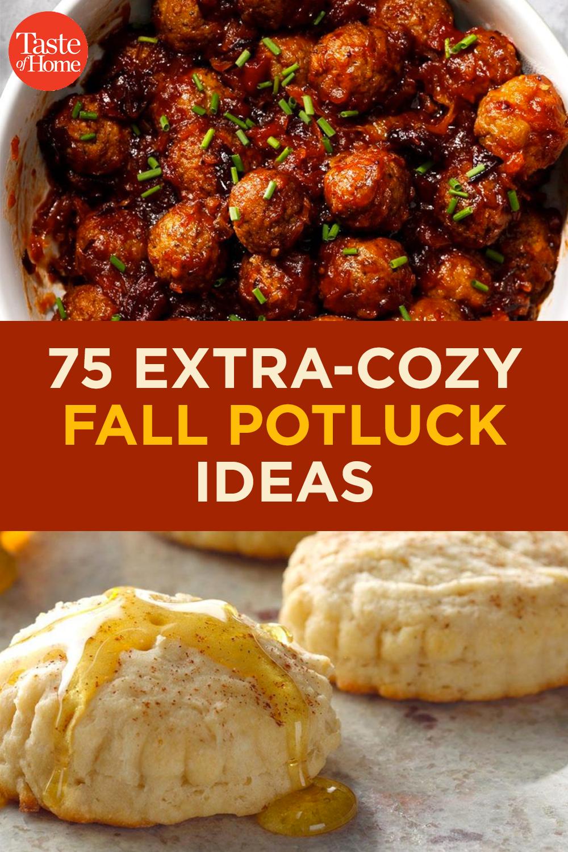 75 Fall Potluck Ideas That Ll Make You
