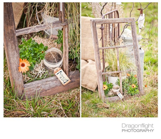 Creating garden art with JUNK | Rustic garden decor ...