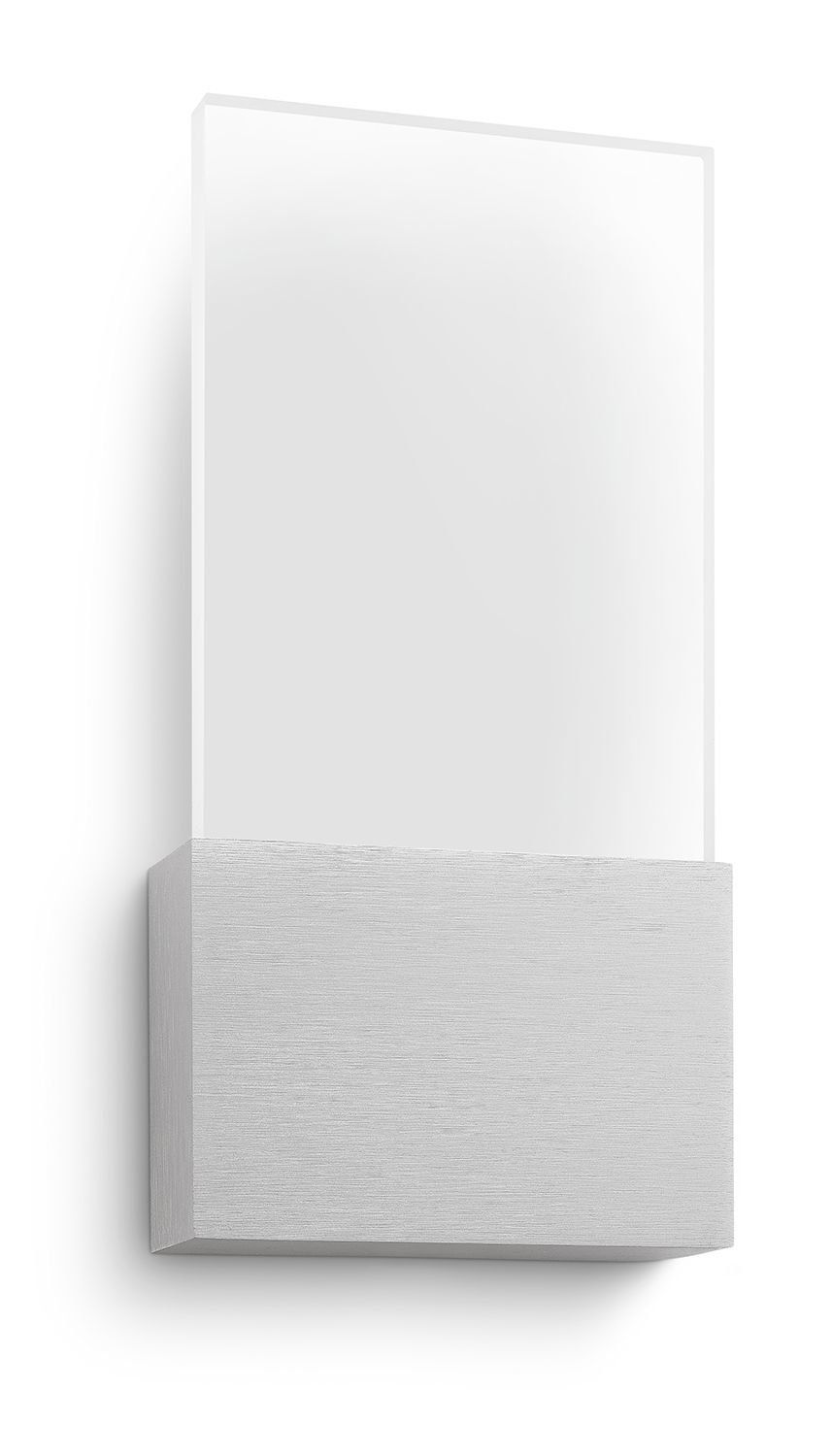 Philips myLiving LED Wall Light Watch Aluminium | Led wall ... on Myliving Outdoors id=45377