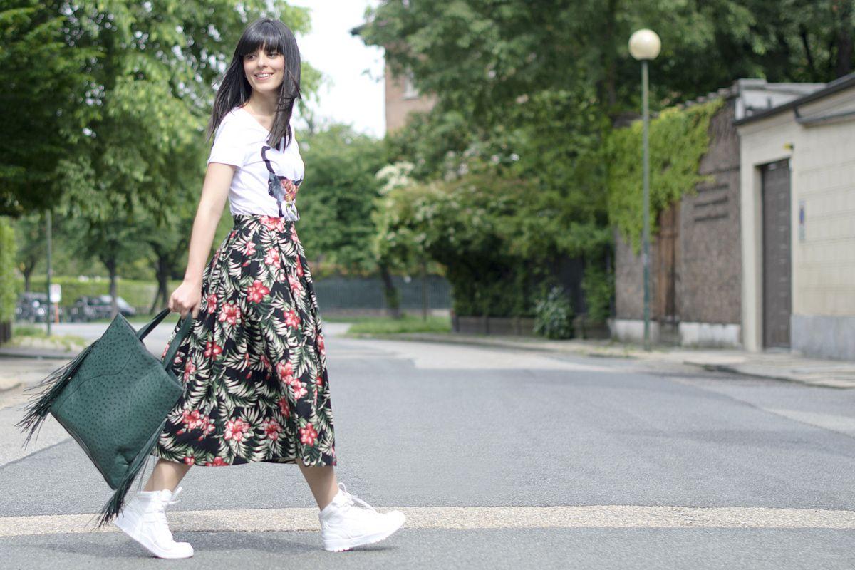 Sneakers bianche: passione da abbinare