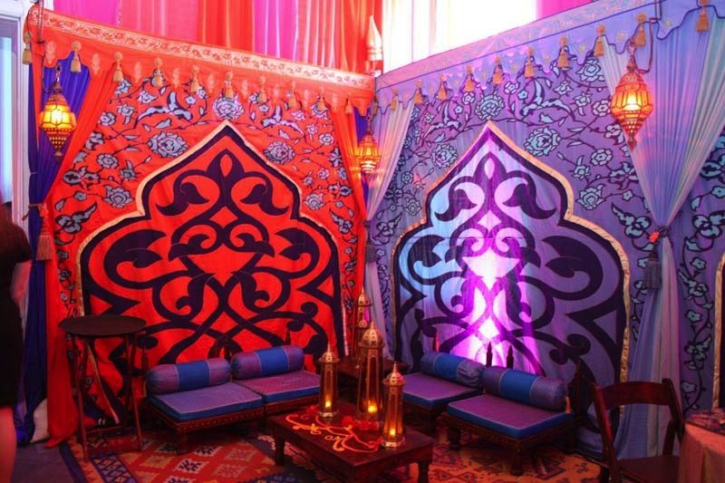 Arabian nights theme parties and props rick herns for Arabian party decoration ideas