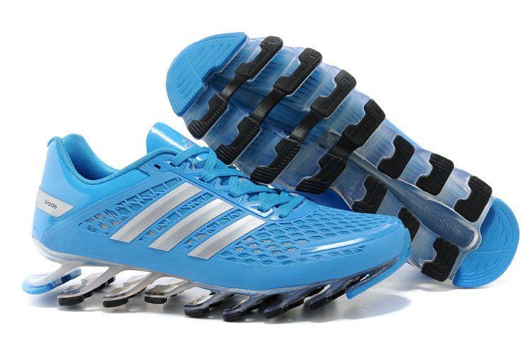 buy popular d3f6b 0789b Adidas Springblade Razor Shoes Blue Silver