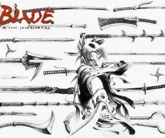 Blade Of The Immortal Manga Hd Wallpaper