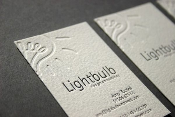 Debossed business cards gives the card stock additional dimension debossed business cards gives the card stock additional dimension tactility and texturing reheart Images