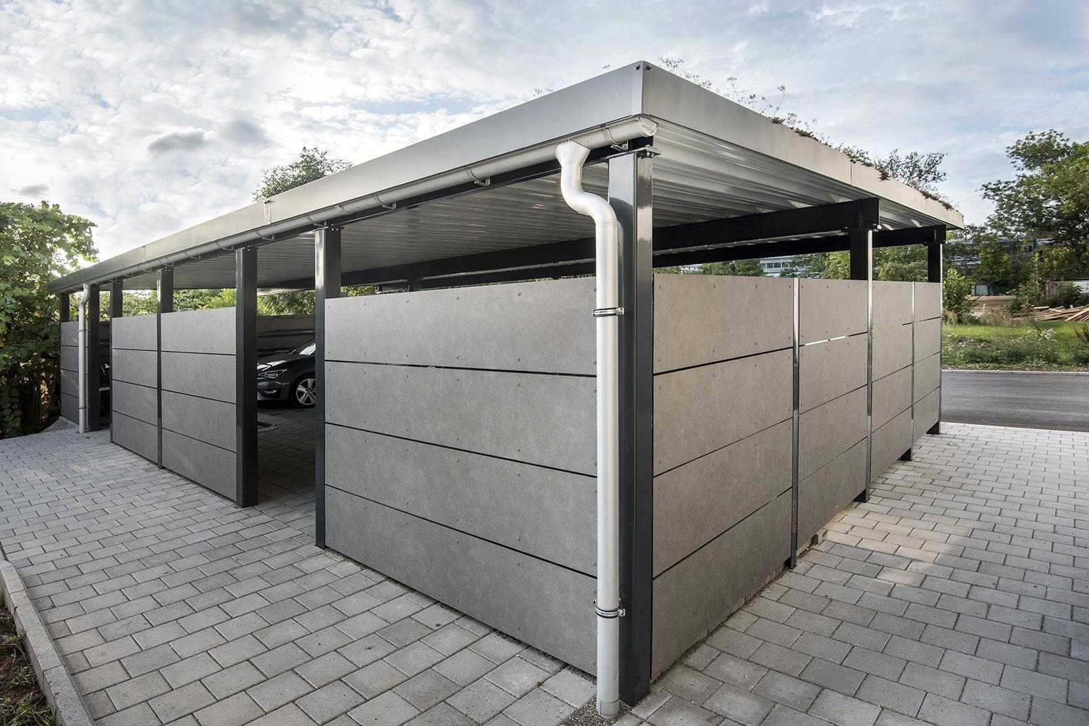 Carport Metall Carport Metall Fassade Haus Carport
