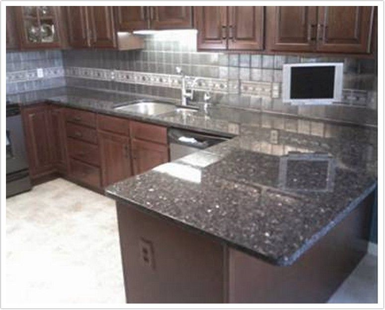 interior countertop kitchen beautiful brown design luxury fantastic with pictures and pearl amazing blue countertops granite cabinets