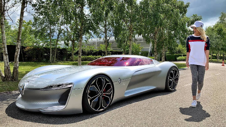Beautiful Supercar Amazing Blondie Renault Trezor Years World Track This Down Most Took The Carthe Most Beautif Car In The World Super Cars Car