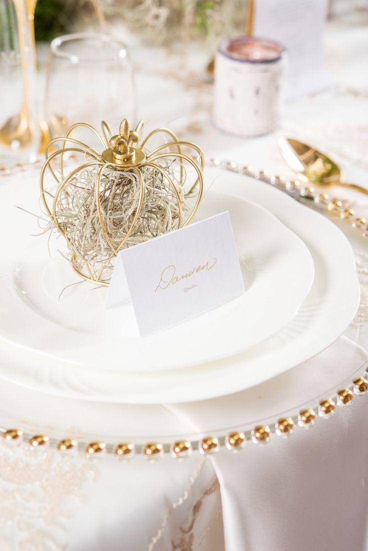 Small Wire Crown Wedding Decorations Wedding Decor Weddingstar Set of 4