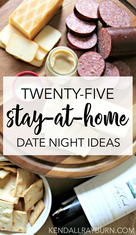 25 Date Night at Home Ideas | Ads and Crafts