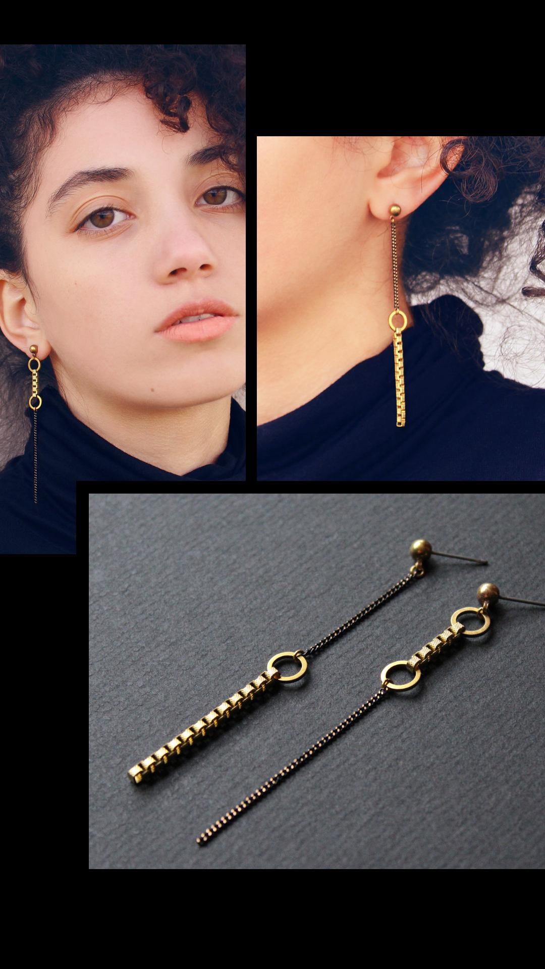 Drop Earrings Asymmetrical Earrings Mismatched Earrings Tassel Earrings Drop Tassel Earrings Drop Pearl Earrings Dangle Earrings
